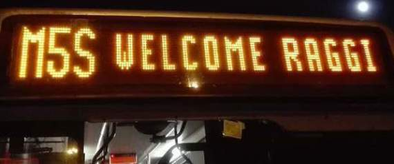 M5S WELCOME RAGGI