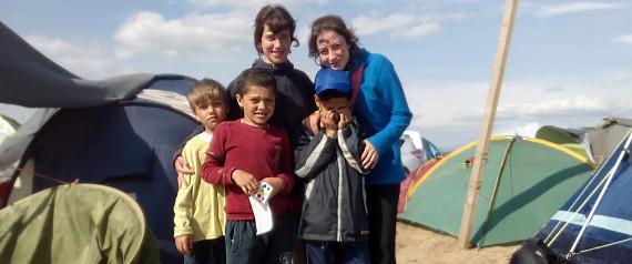 refugiados niños