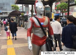 ウルトラマン、山手線に乗ろうとして駅員に止められる 円谷プロのコメントは?