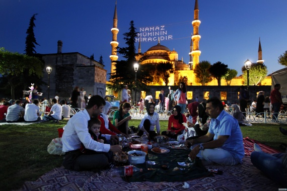 turkey mosque ramadan