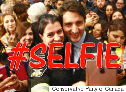 It's National Selfie Day, So Of Course Tories Went There