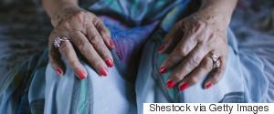 OLD WOMAN LEGS