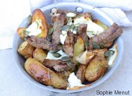 Vite fait, bien fait: Salade de bœuf, pommes de terre et féta