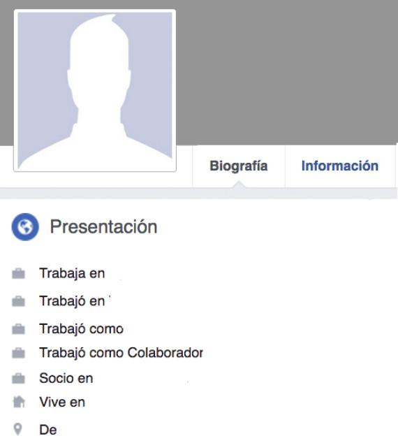 presentación facebook
