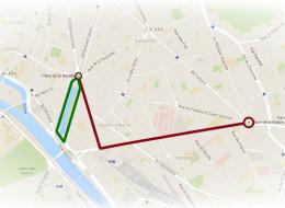 Le gouvernement interdit le parcours original de la manif puis en autorise un autre beaucoup plus court autour de Bastille