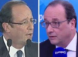 Les grandes envolées de Hollande pour le droit de manifester