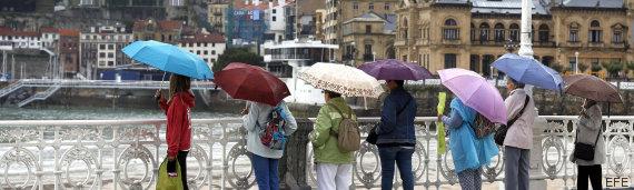 lluvia san sebastian