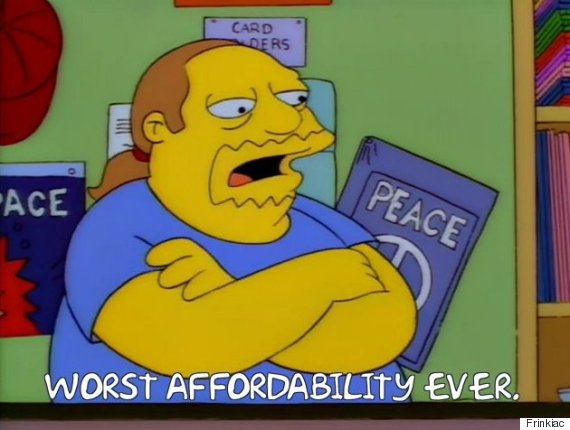comic book guy affordability