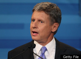Gary Johnson Libertarian