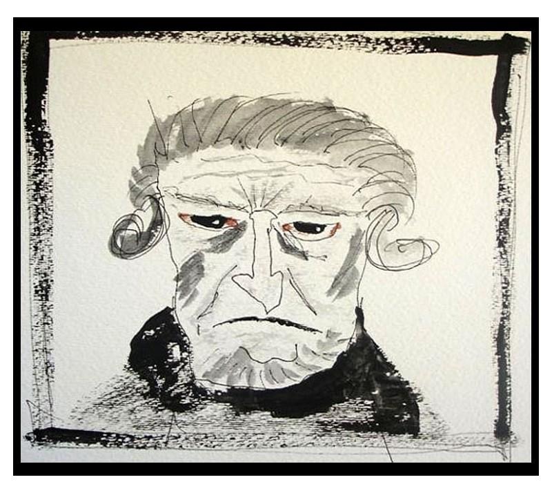 Christmas Carol Scrooge Drawing.Revamped A Christmas Carol Wishes You A Scary Christmas