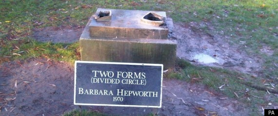 Hepworth Sculpture Stolen