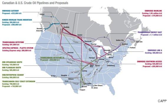 pipeline maps