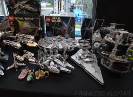 Así es la mayor muestra de Lego de 'Star Wars' que se ha hecho nunca en España