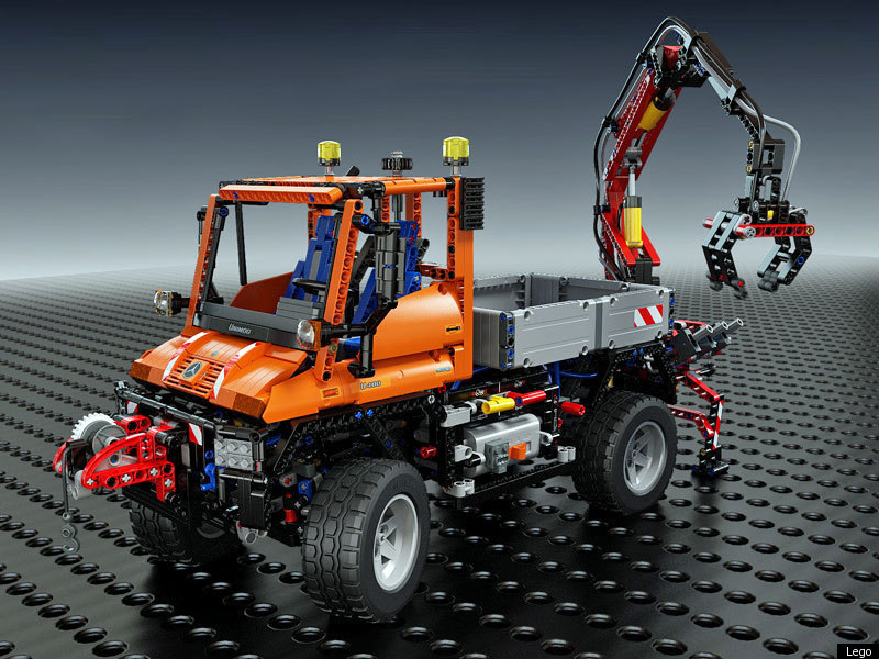 Lego Unimog U400 What Building The Largest Ever Technic