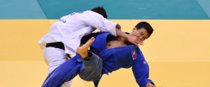 NORTH KOREA JUDO