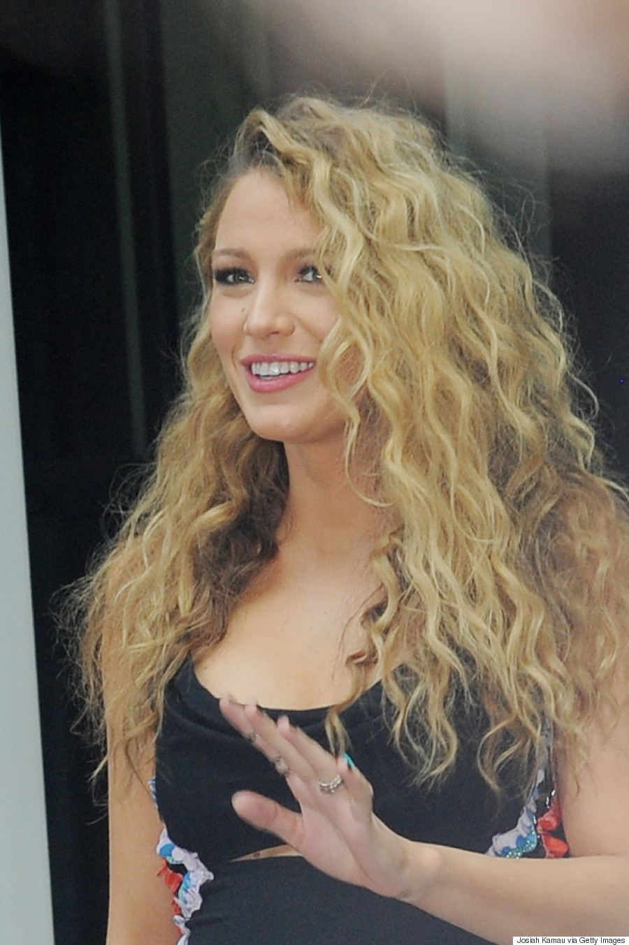 Blake Lively's Big Curls Are What '80s Hair Dreams Are Made Of