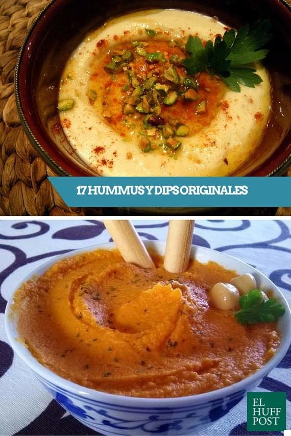 hummus y dips