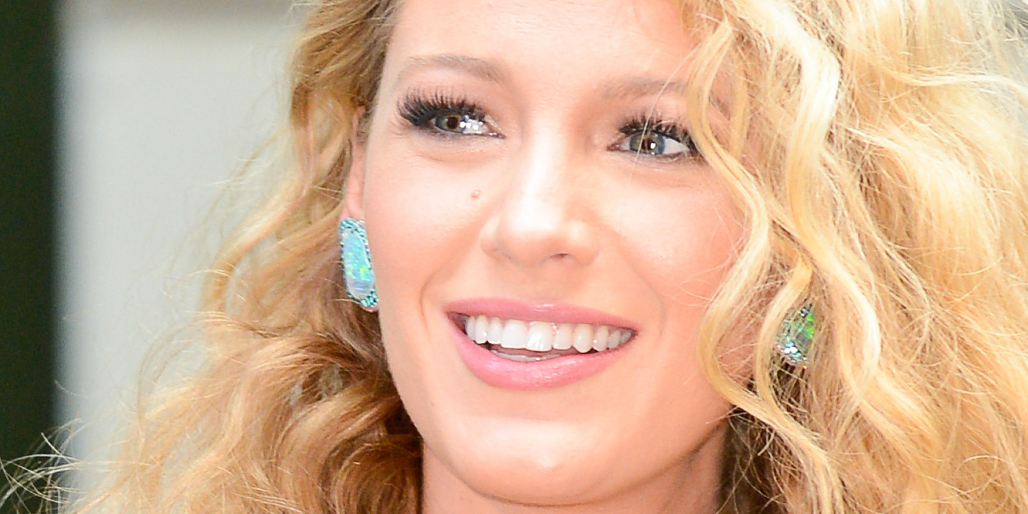 Blake Lively's Big Curls Are What '80s Hair Dreams Are Made Of Blake Lively Facebook