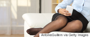 BUSINESS WOMAN PANTYHOSE