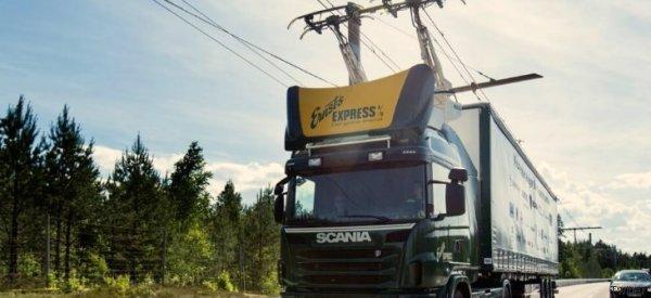 Mutiger Plan: In Schweden sollen Lkw bald elektrisch fahren