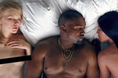 Image from Kanye West's new video | Pic: Pinterest