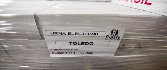 URNAS TOLEDO