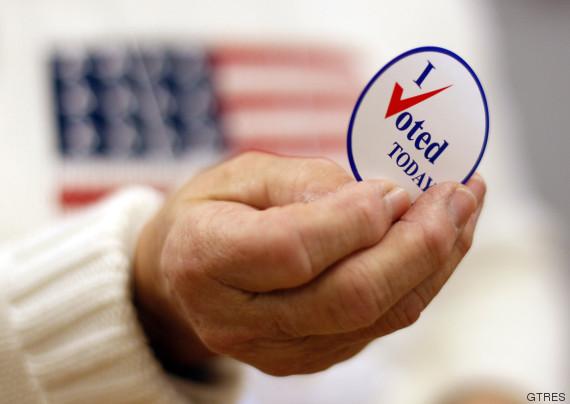 pegatina voto