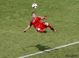 Shaqiri inscrit LE but de l'Euro (mais la Suisse est éliminée)