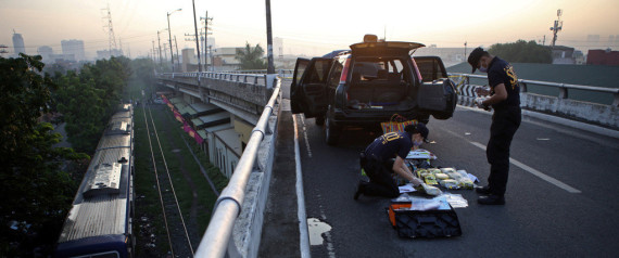 PHILIPPINES DRUG POLICE