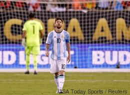Lionel Messi met un terme à sa carrière internationale avec l'Argentine