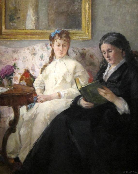 señoras leyendo