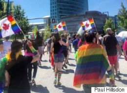 Surrey Shows Its Pride At 1st-Ever Parade