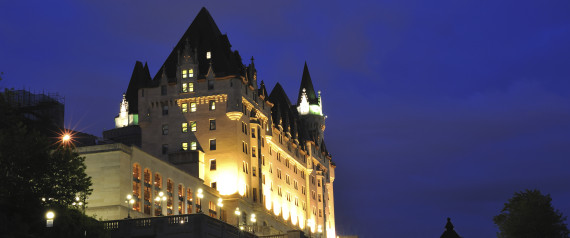 CHATEAU LAURIER NIGHT