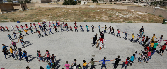SCHOOL IN SYRIAN