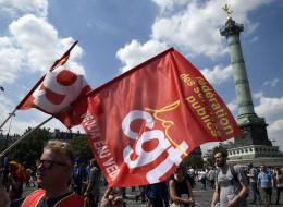 La 11e manifestation anti-loi Travail sous haute escorte