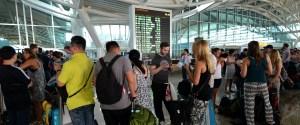 airport queue
