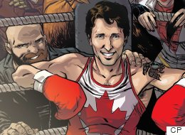 Trudeau Joins Canadian Superheroes On Marvel Comic Book Cover