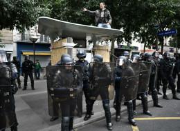 De rares débordements dans les manifestations anti-loi Travail