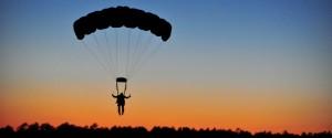 paracaidismo acción