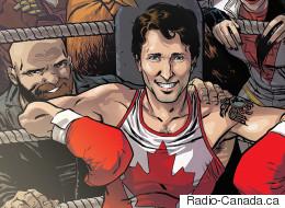 Super Trudeau Graces The Cover Of Marvel Comic