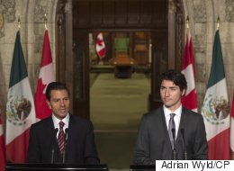 Trudeau Addresses Deaths Of Protesting Mexican Teachers