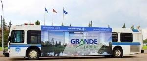 GRANDE PRAIRIE BUS