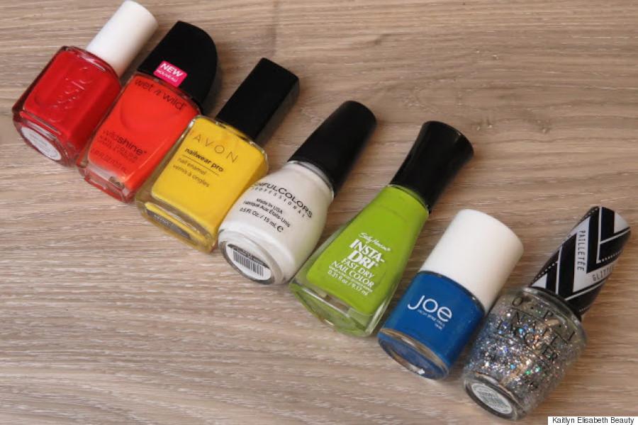 pride nail art