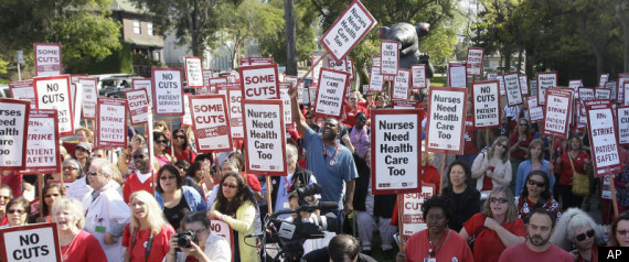 Ca Nurses Strike