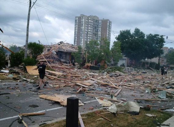 Police say multiple injuries in Toronto-area house explosion