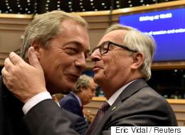 EU 집행위원장이 영국에게 '빅엿'을 날렸다
