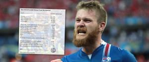 ISLANDE EURO 2016