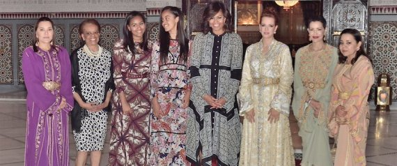 MICHELLE OBAMA LALLA SALMA
