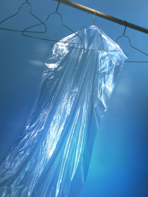 drycleaning bag