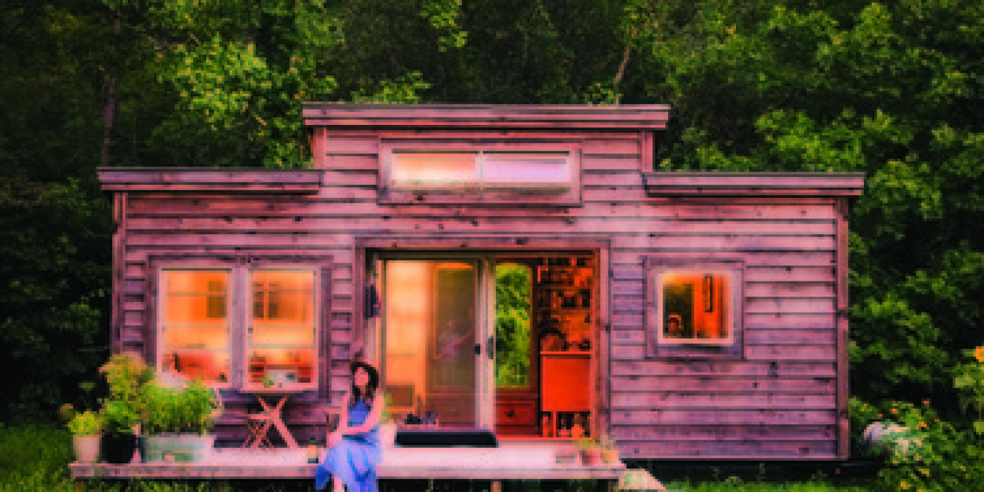 House From Recycled Materials : Tiny houses made from recycled materials huffpost